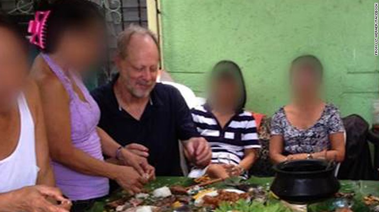 Las Vegas shooter Stephen Paddock in the Philippines in April 2013.