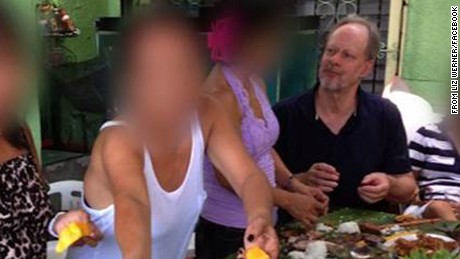 Stephen Paddock in the Philippines in April 2013