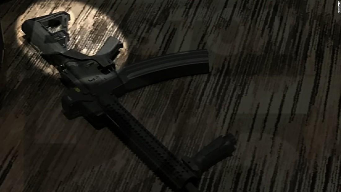 Bump stock: The device found on Las Vegas shooter's guns