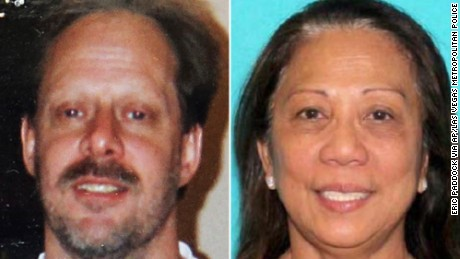 Stephen Paddock and his girlfriend, Marilou Danley.