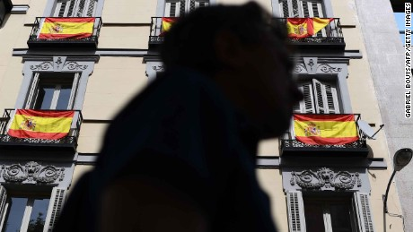 The Catalans who oppose a split from Spain