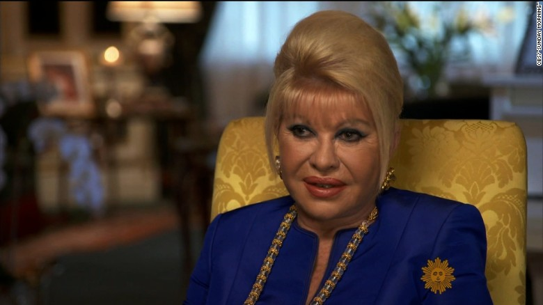Ivana Trump speculates her daughter Ivanka could run for presidency