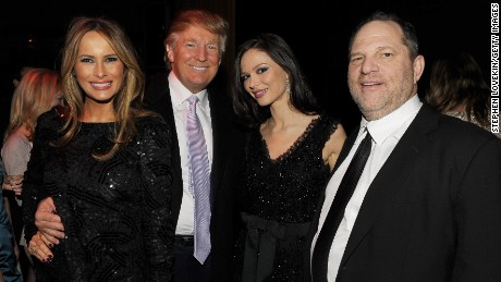 Image result for Weinstein with trumps