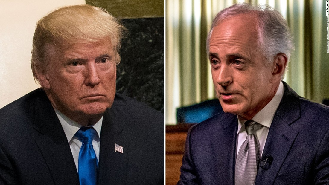 Corker's tumultuous relationship with Trump - CNN Video