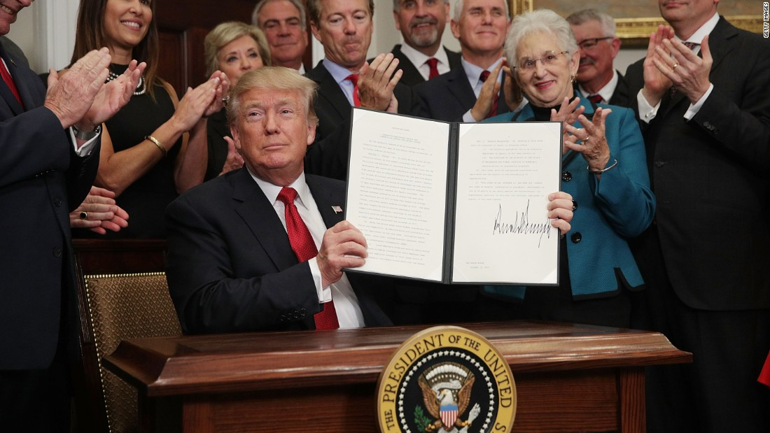 Trump ends health care cost-sharing subsidies
