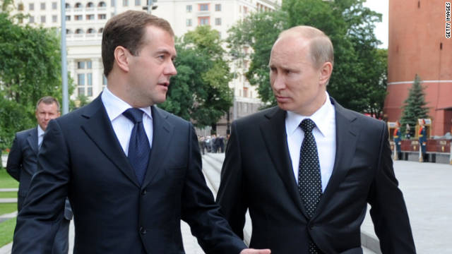 putin and medvedev relationship