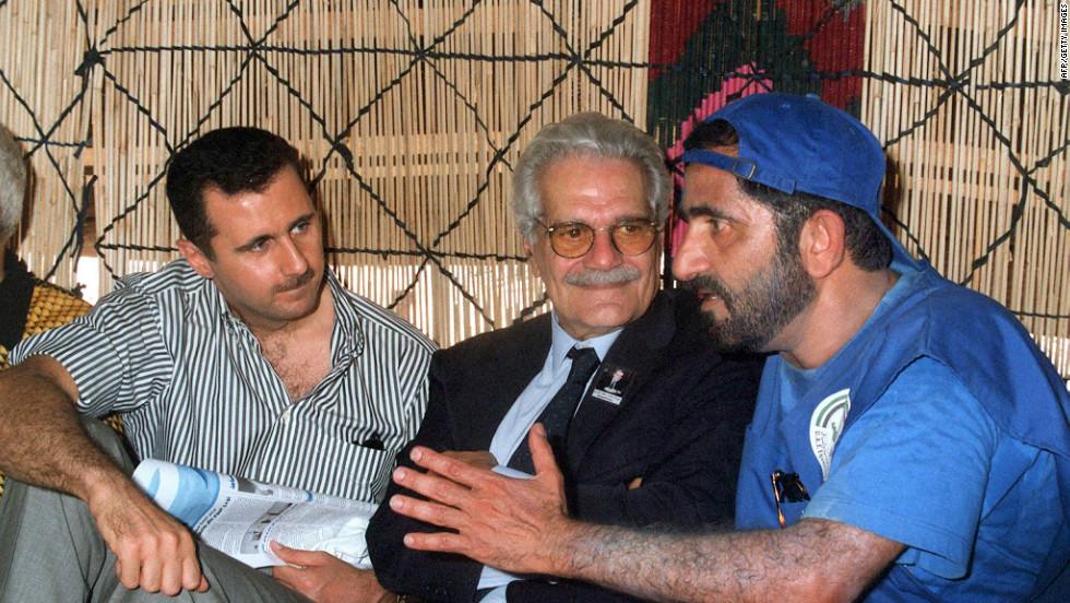 Syria's Assad family through the years