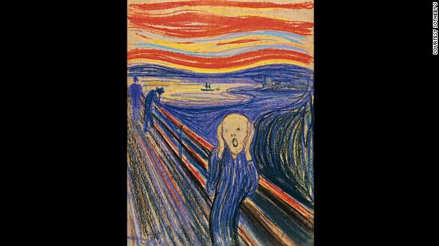 The Scream Edvard Munch Wallpaper