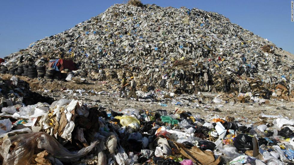 Trash City Inside America S Largest Landfill Site Cnn