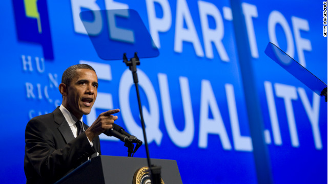 president obama same sex marriage speech in St. Johns