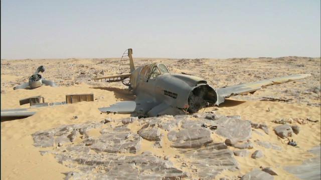 British Wwii Fighter Found In Egyptian Desert Cnn Com