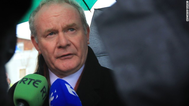 Sinn Fein's Martin McGuinness retires from politics
