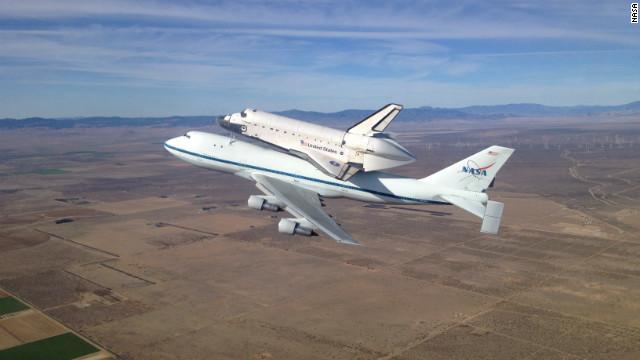 Space shuttle piggyback 747 unveiled | CNN Travel