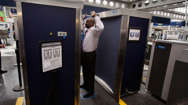 Airport body scanners and personal privacy