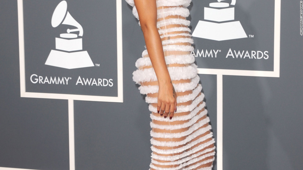 Grammy awards sexy and scandalous style