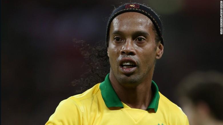 Like Ronaldo, Ronaldinho was also a FIFA world player of the year.