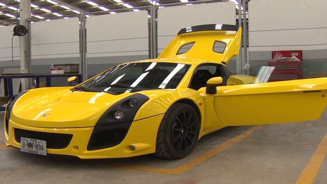The Sports Car Made In Mexico