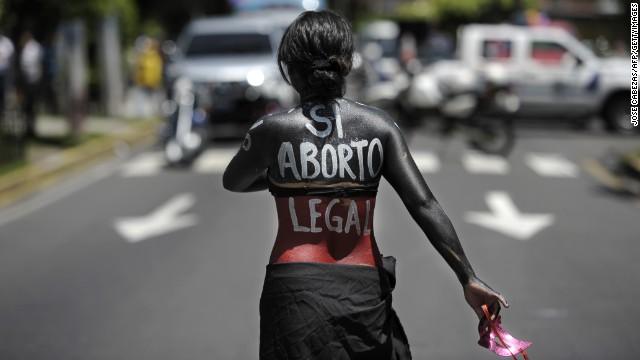A bill calling for the relaxation of El Salvadors abortion law is under consideration, but has yet to come to a vote.