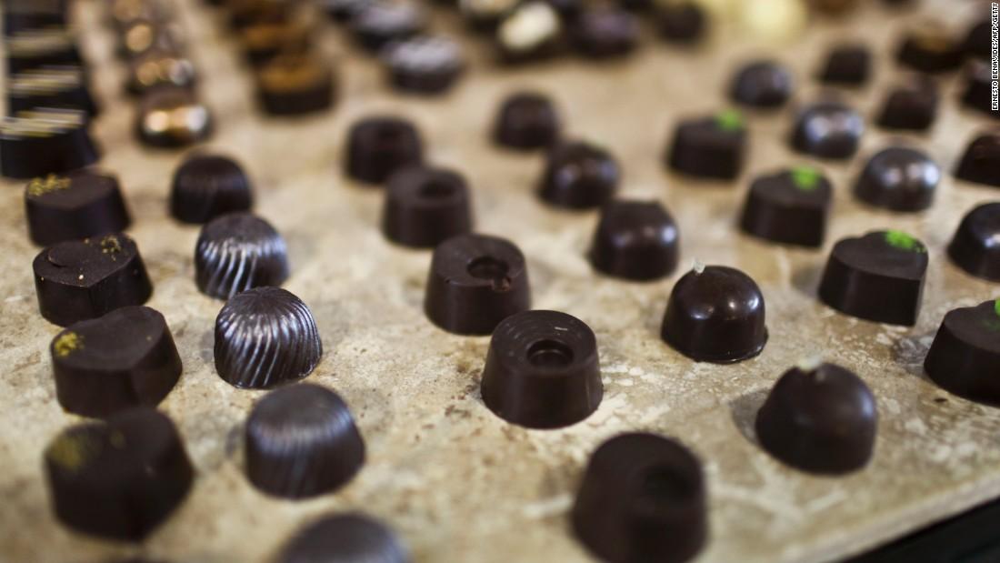 Coginition And Dark Chocolate
