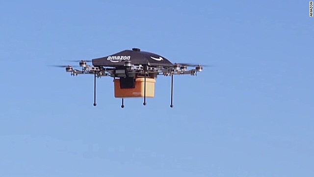 Amazon S Drone Delivery How Would It Work Cnn