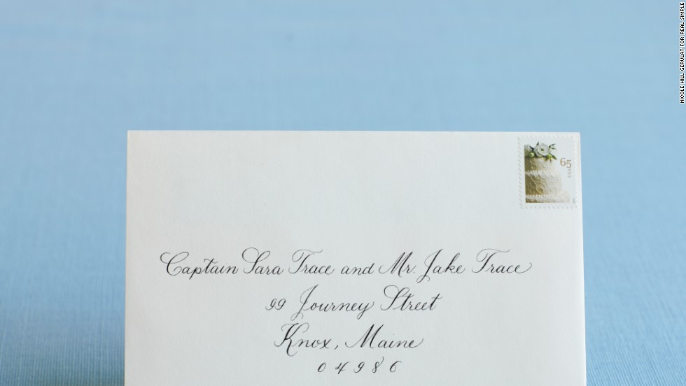 What Is The Proper Way To Address Wedding Invitations