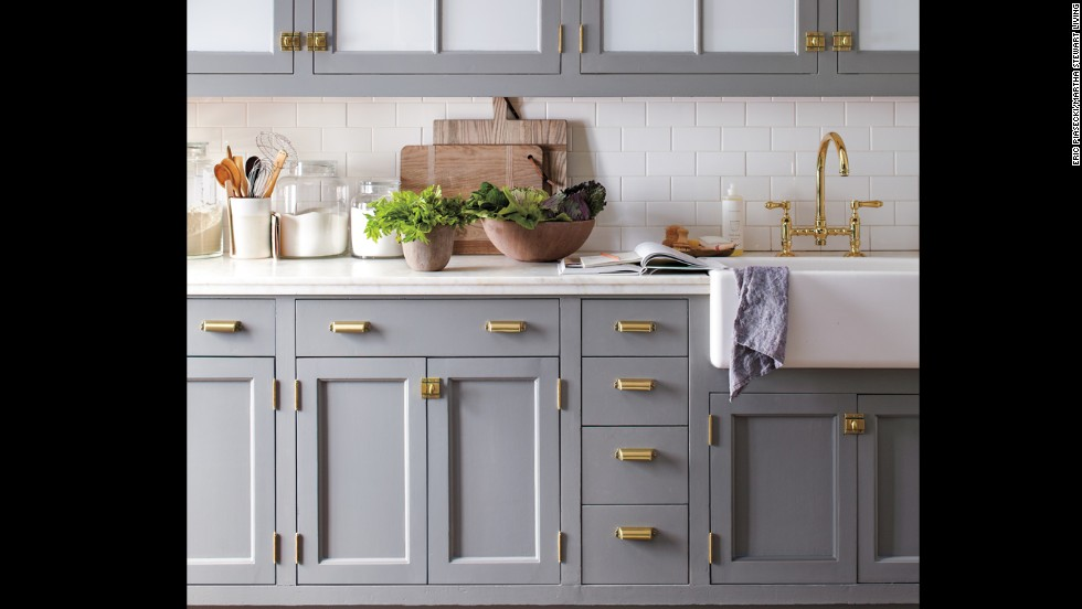 Elegant No Need For A Gut Renovation Revitalize Your Kitchen With Fresh Paint Color  And