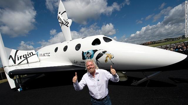 richard branson space shuttle port - photo #22