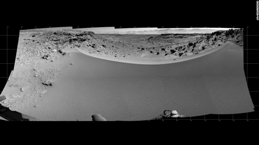 mars rover location - photo #27