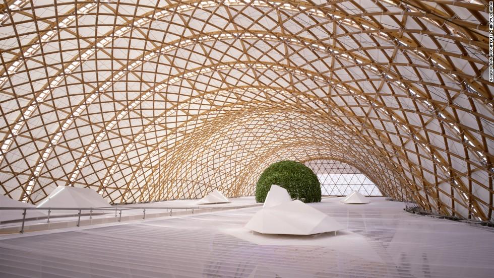 can pritzker winner shigeru ban 39 s paper palaces last. Black Bedroom Furniture Sets. Home Design Ideas
