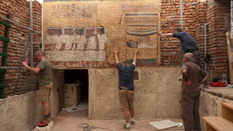 How to Build an Ancient Egyptian Tomb for a School Project