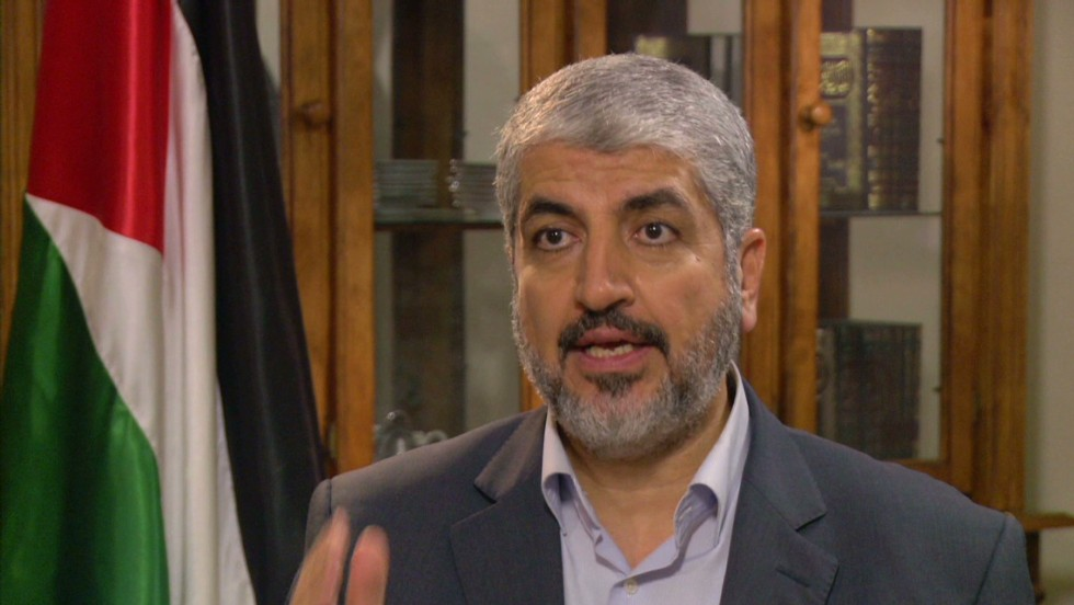 Hamas leader Khaled Meshaal issues direct plea to US ...