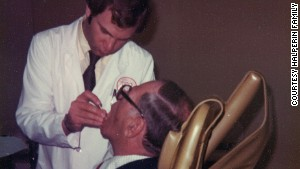 Sandy Halperin was a teacher and practicing prosthodontist at Harvard University in 1979.