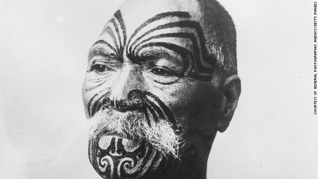 Maori Woman Face Tattoo: Smithsonian Returns Maori Remains To New Zealand