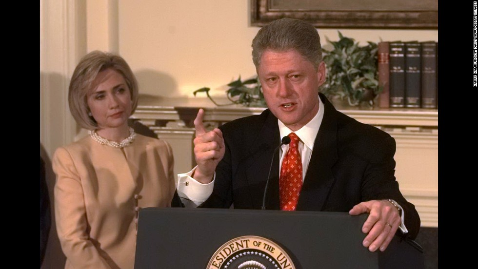 The early life and presidency of bill clinton