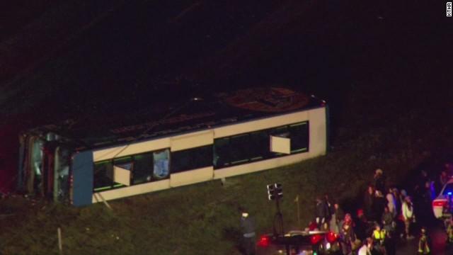 At Least 26 Hurt In Megabus Crash Near Indianapolis Cnn