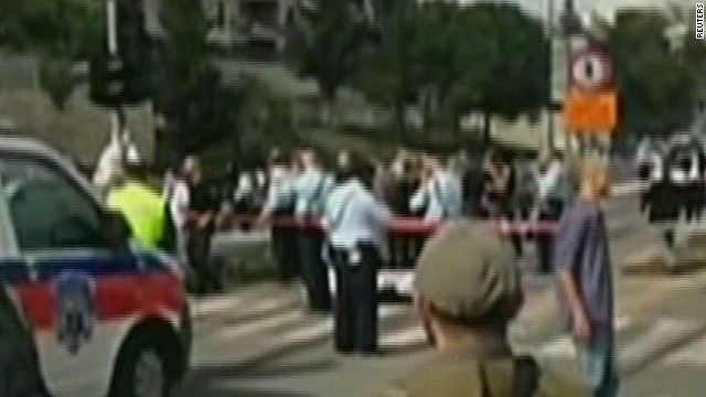 Jew Detector: Jerusalem Tensions: Clashes At Holy Site; Van Hits 14