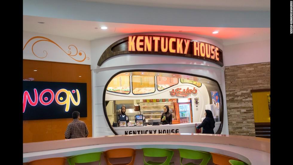 Appliances Inside Fast Food Restaurants