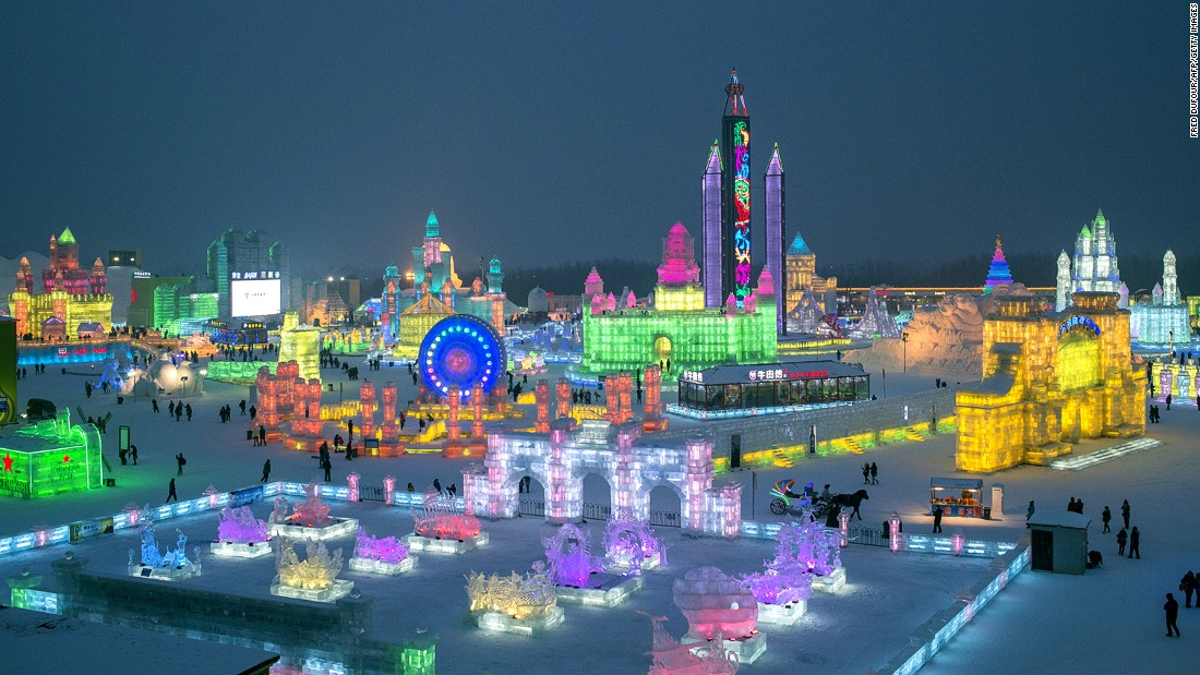 2015 Harbin International Ice And Snow Festival