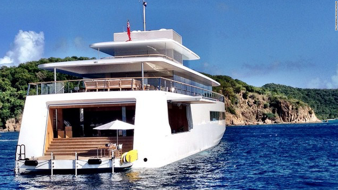 Steve Jobs' secret yacht: The rare, new images - CNN Video