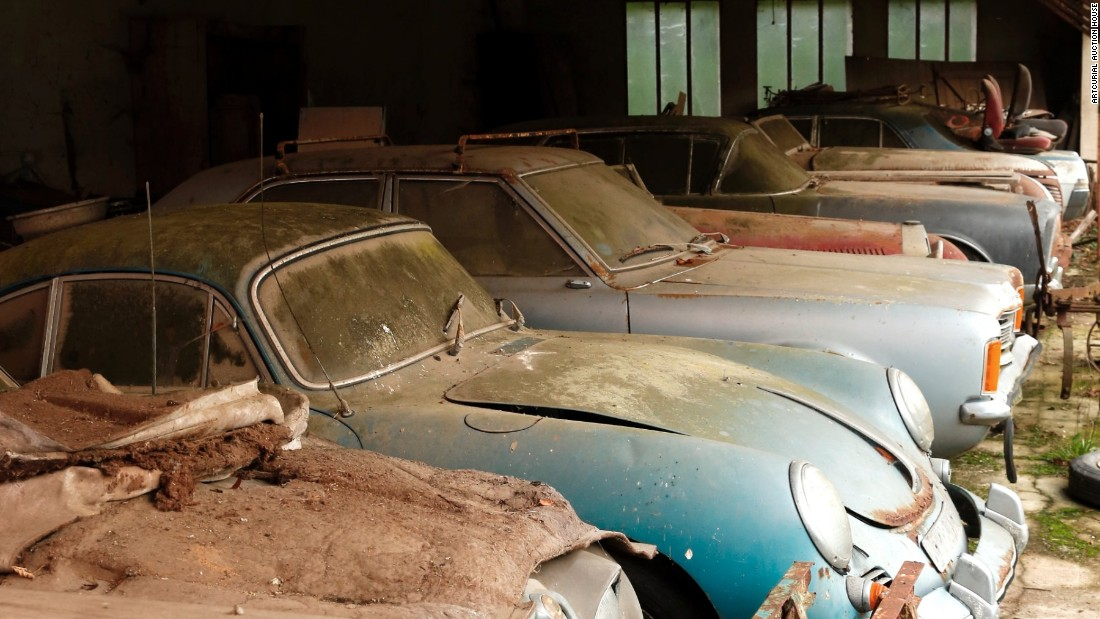 Old, rusty cars expected to sell for $20 million - CNN.com