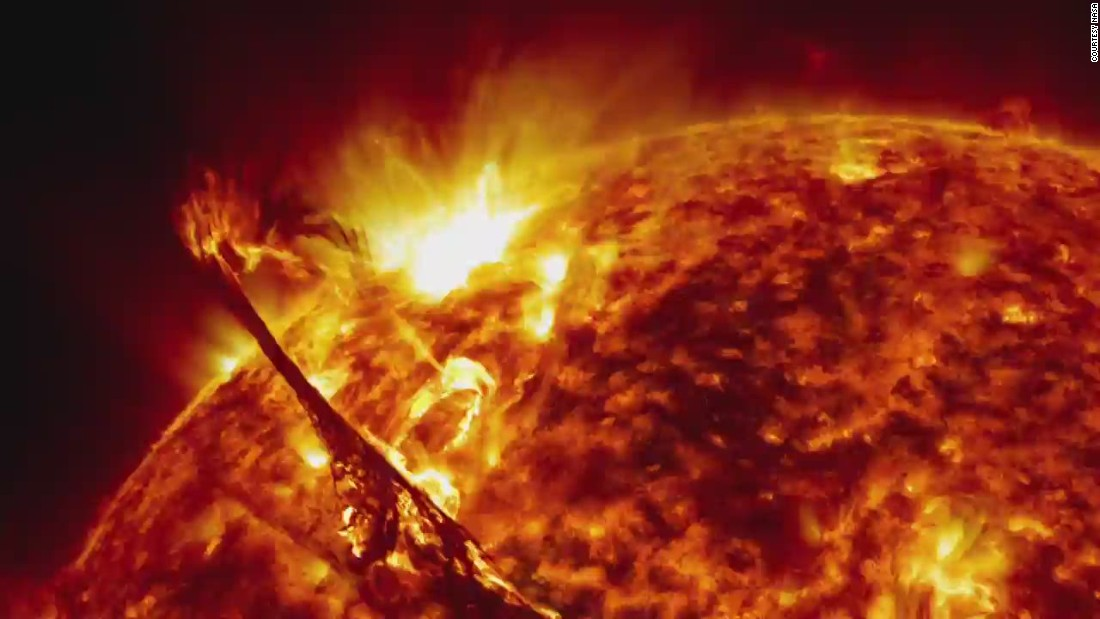 NASA's breathtaking images of the sun - CNN Video