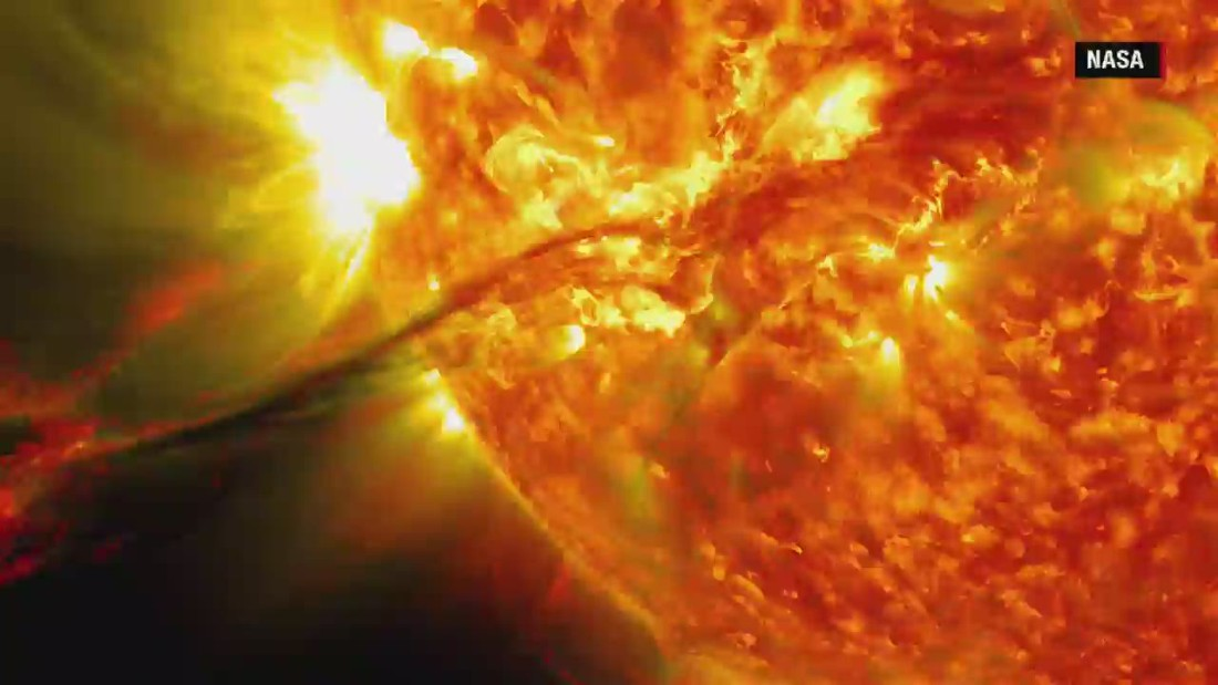 Timelapse reveals dramatic solar images - CNN Video