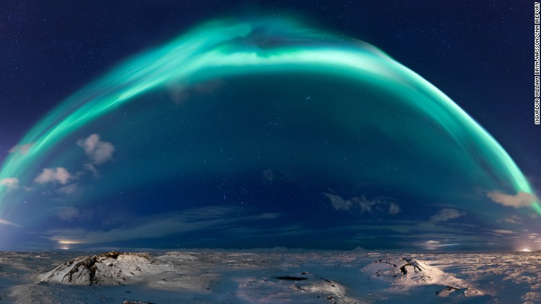 aurora borealis solar storm today - photo #34