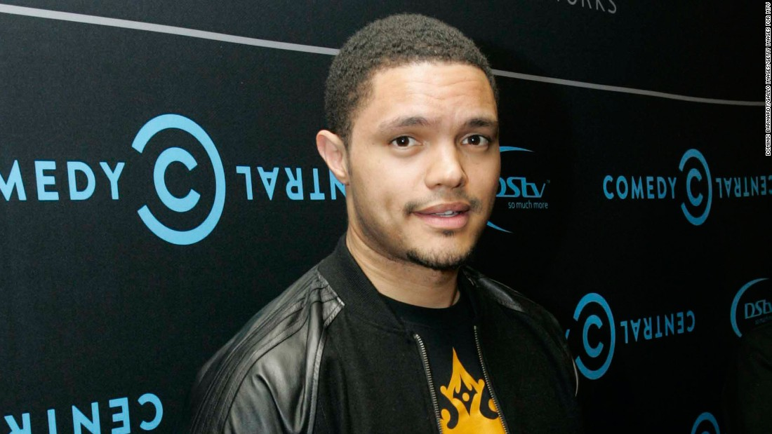 Comedy Central supports Trevor Noah after tweets - CNNPolitics