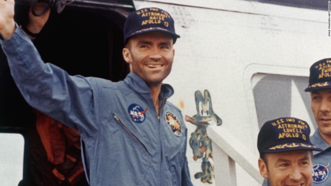 Astronaut Jim Lovell: Apollo 13 Commander