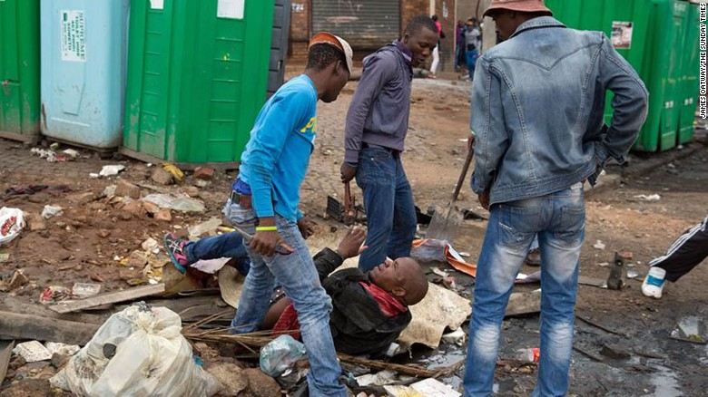 Xenophobic Killing In South Africa Caught By Photos Cnn