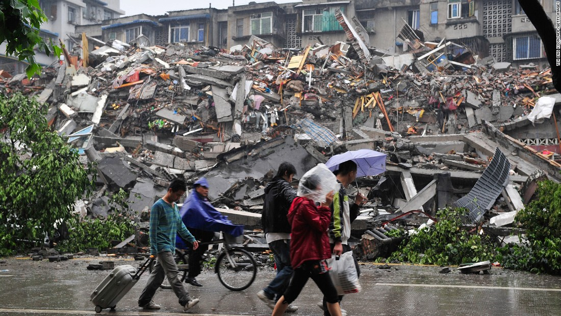 Image result for sichuan china earthquake (May 12, 2008):