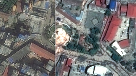 Before And After The Nepal Earthquake