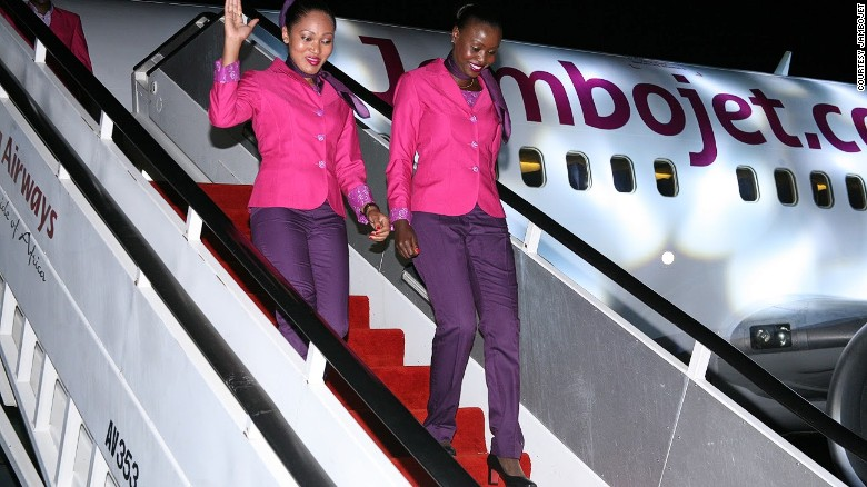 Another Kenyan airline, this one serving only four cities, JamboJet has recently been cleared to fly across Africa from Nairobi and Mombasa.