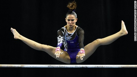 Gymnast Faces Leotard Controversy Cnn Video